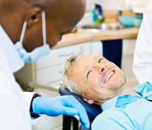 man relaxed at the dentist's office thanks to his naples sedation dentistman relaxed at the dentist's office thanks to his naples sedation dentist
